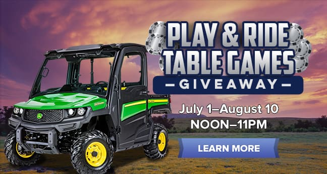 Play & Ride Table Games Giveaway